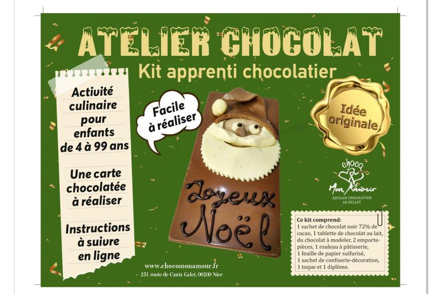 Kit atelier chocolat