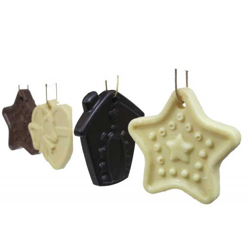 Ornements de Noël chocolat