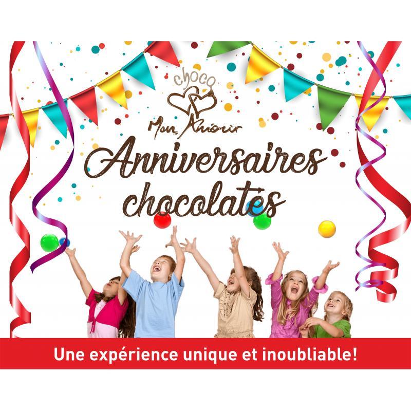 anniversaire chocolaté