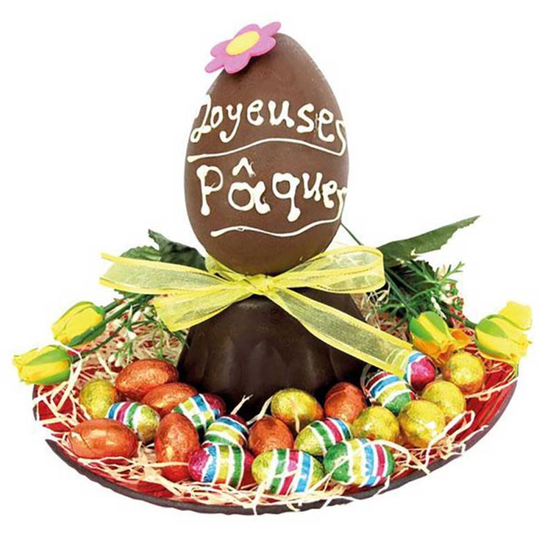 Assiette de Pâques