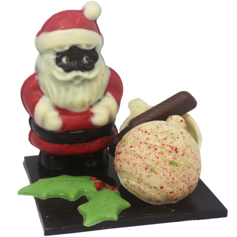 Le Père Noël et ses gourmandises