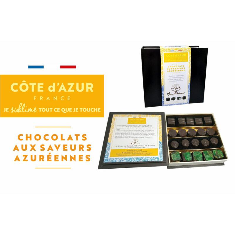 Chocolats aux saveurs azuréennes